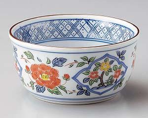 和食器 ミ064-386 花唐草3.8小鉢