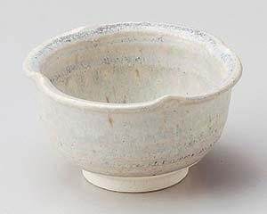 和食器 テ072-176 荒土灰釉流四ツ3.0小鉢