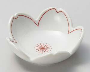 和食器 ミ078-276 桜形上絵珍味