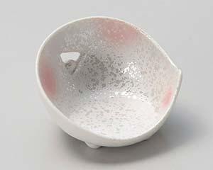 和食器 キ079-036 ピンク吹ラスターミニミニかまくら型珍味