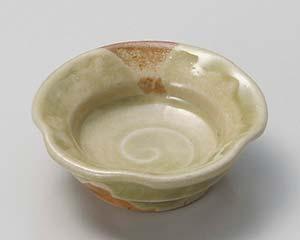 和食器 ウ081-206 灰釉梅型珍味
