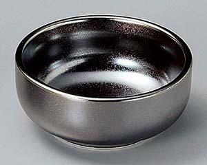 和食器 ネ081-446 シルバー丸珍味大 【キャンセル/返品不可】【厨房館】