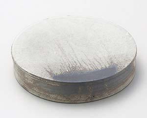 【まとめ買い10個セット品】和食器 メ167-086 灰釉粉引8.5台皿 【キャンセル/返品不可】【厨房館】