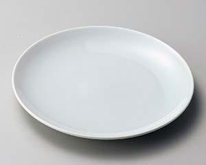 【まとめ買い10個セット品】和食器 カ172-116 スーパー青白磁8寸皿 【キャンセル/返品不可】【厨房館】
