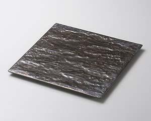 和食器 カ178-186 金結晶岩肌21cm皿