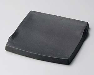 【まとめ買い10個セット品】和食器 ホ181-087 黒マットまな板角皿(大)【キャンセル/返品不可】【厨房館】