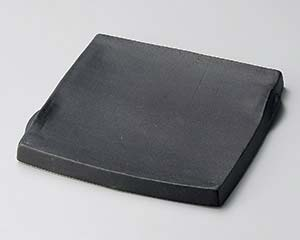 【まとめ買い10個セット品】和食器 ホ181-097 黒マットまな板角皿(小)【キャンセル/返品不可】【厨房館】
