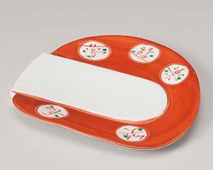 【まとめ買い10個セット品】和食器 ミ196-187 夢楽変形前菜皿【キャンセル/返品不可】【厨房館】