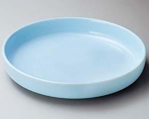 【まとめ買い10個セット品】和食器 ス228-206 青地ドラ鉢 【キャンセル/返品不可】【厨房館】