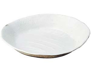 和食器 メ232-066 荒土しのぎ手12.0大鉢 【キャンセル/返品不可】【厨房館】