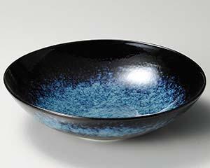 【まとめ買い10個セット品】和食器 タ239-096 青うのふ吹尺鉢 【キャンセル/返品不可】【厨房館】