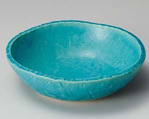 【まとめ買い10個セット品】和食器 ト253-016 トルコ青手造り鉢 【キャンセル/返品不可】【厨房館】