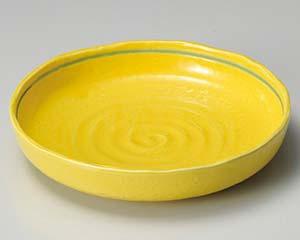 【まとめ買い10個セット品】和食器 ア253-056 黄釉ボール(大) 【キャンセル/返品不可】【厨房館】