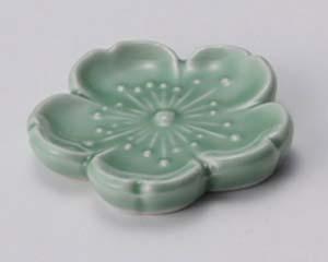 和食器 ウ285-576 新桜箸置(ヒワ)