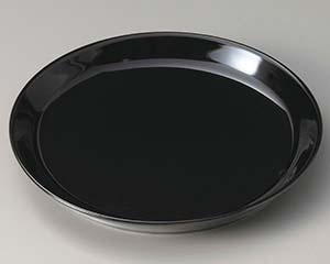 和食器 ト306-106 黒 洋風プレート