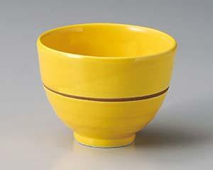 【まとめ買い10個セット品】和食器 ア346-146 黄釉たもり碗 【キャンセル/返品不可】【厨房館】