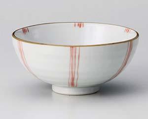 和食器 ユ361-406 赤水車茶碗(小)