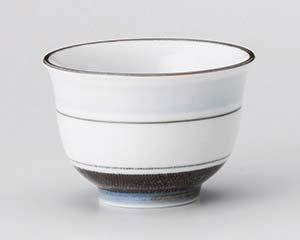 和食器 ヨ384-086 淡彩ライン千茶