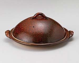 和食器 メ395-206 12号陶板(蓋付) 【キャンセル/返品不可】【厨房館】