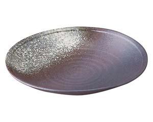 【まとめ買い10個セット品】和食器 ス397-056 10号丸皿 【キャンセル/返品不可】【厨房館】