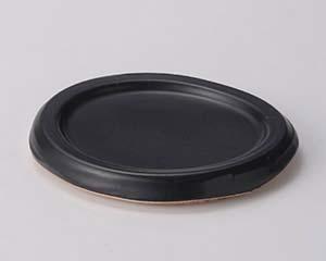 【まとめ買い10個セット品】和食器 ス407-316 黒(手造り)ミニステーキ陶板 【キャンセル/返品不可】【厨房館】