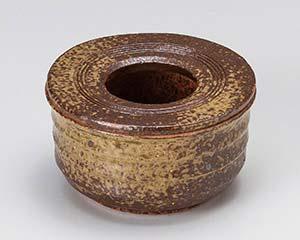 【まとめ買い10個セット品】ミ744-127 手造り灰吹き灰皿【キャンセル/返品不可】【厨房館】