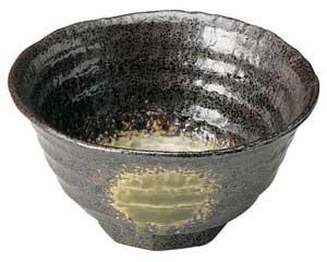 【まとめ買い10個セット品】和食器 ウ450-036 ロクベ茶碗(中) 【キャンセル/返品不可】【厨房館】