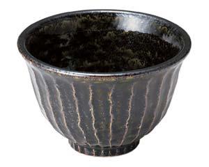 和食器 タ465-116 しのぎ飯碗