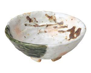 【まとめ買い10個セット品】和食器 ツ490-317 白タタキサビ木 ロクロ目刺身鉢【キャンセル/返品不可】【厨房館】