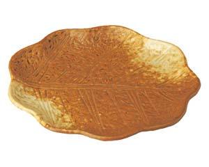 【まとめ買い10個セット品】和食器 ウ505-026 木の葉型6.0皿 【キャンセル/返品不可】【厨房館】