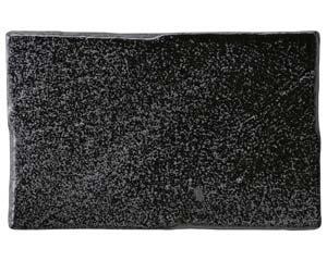 【まとめ買い10個セット品】和食器 タ525-186 新玄いぶし黒長角焼物皿 【キャンセル/返品不可】【厨房館】