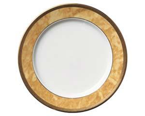 【まとめ買い10個セット品】和食器 ホ538-116 エレガントゴールド7.5吋皿 【キャンセル/返品不可】【厨房館】