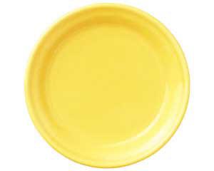 【まとめ買い10個セット品】和食器 ト580-566 イエロー71/2吋皿 【キャンセル/返品不可】【厨房館】