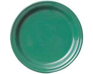 【まとめ買い10個セット品】和食器 ト580-596 グリーン12吋皿 【キャンセル/返品不可】【厨房館】