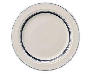 【まとめ買い10個セット品】ケ572-017 カントリーサイドネイビーブルー 27cmディナー皿【キャンセル/返品不可】【厨房館】