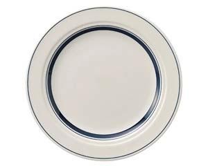 【まとめ買い10個セット品】ケ572-027 カントリーサイドネイビーブルー 25.5cmディナー皿【キャンセル/返品不可】【厨房館】