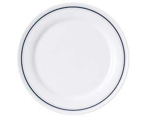 【まとめ買い10個セット品】ヤ581-547 サークル 10吋ディナー皿【キャンセル/返品不可】【厨房館】