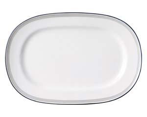 【まとめ買い10個セット品】和食器 ヤ587-186 14吋プラター 【キャンセル/返品不可】【厨房館】