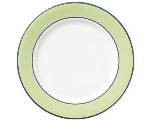 【まとめ買い10個セット品】ツ576-537 グリーンセラム 9吋ミート皿【キャンセル/返品不可】【厨房館】