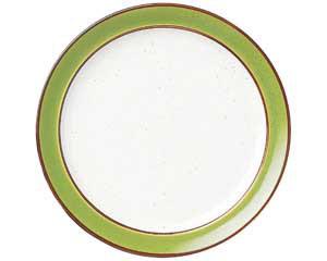 【まとめ買い10個セット品】ツ577-557 No.656 マンゴレインボーストン 10吋ディナー皿【キャンセル/返品不可】【厨房館】