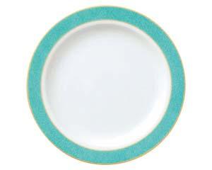 【まとめ買い10個セット品】ホ591-027 エメラルドグリーン 7.5吋ケーキ皿【キャンセル/返品不可】【厨房館】