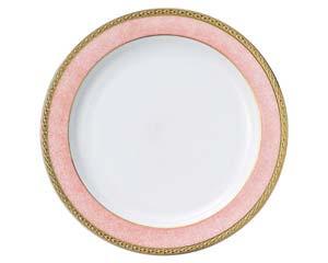 【まとめ買い10個セット品】和食器 タ594-706 27cmディナー(ピンク) 【キャンセル/返品不可】【厨房館】