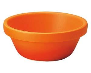 【まとめ買い10個セット品】和食器 ハ598-246 スタック12cm深ボール ベイクオレンジ 【キャンセル/返品不可】【厨房館】
