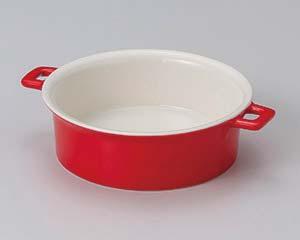 【まとめ買い10個セット品】和食器 イ603-016 赤クルールスープシチュー 【キャンセル/返品不可】【厨房館】