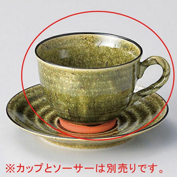 和食器 キ609-346 縄手織部コーヒー碗のみ