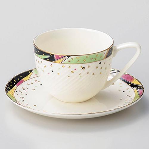 【まとめ買い10個セット品】ア606-497 N.Bシンホニーコーヒー碗と受皿【キャンセル/返品不可】【厨房館】
