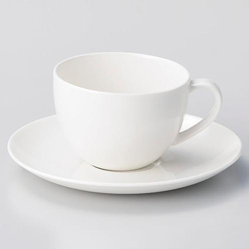 【まとめ買い10個セット品】和食器 イ612-096 軽量強化HW碗と受皿 【キャンセル/返品不可】【厨房館】