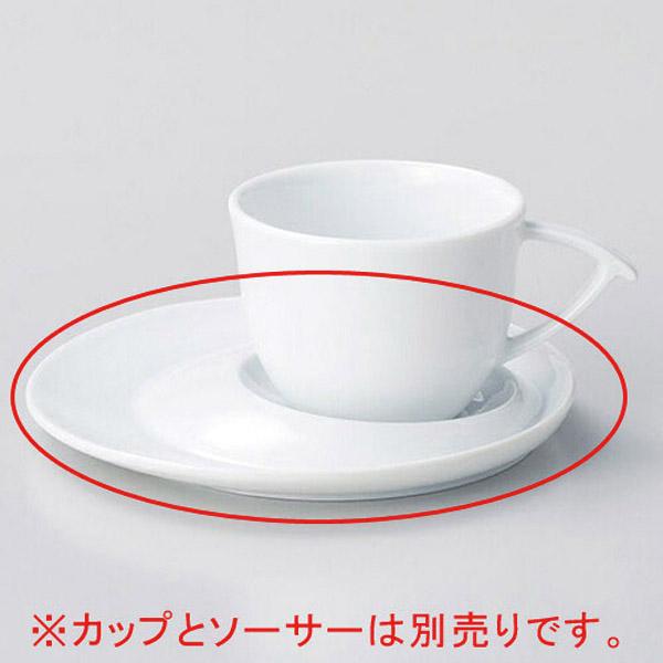 【まとめ買い10個セット品】和食器 カ613-416 白磁ブルーム碗と受皿 【キャンセル/返品不可】【厨房館】