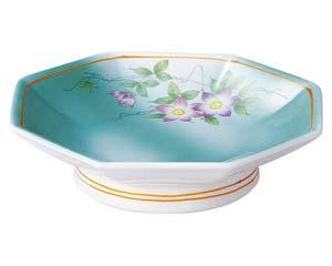和食器 ミ656-166 8角6.0高台皿