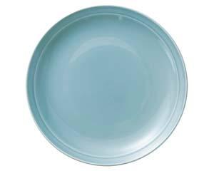 【まとめ買い10個セット品】オ658-017 青磁 13.0皿【キャンセル/返品不可】【厨房館】